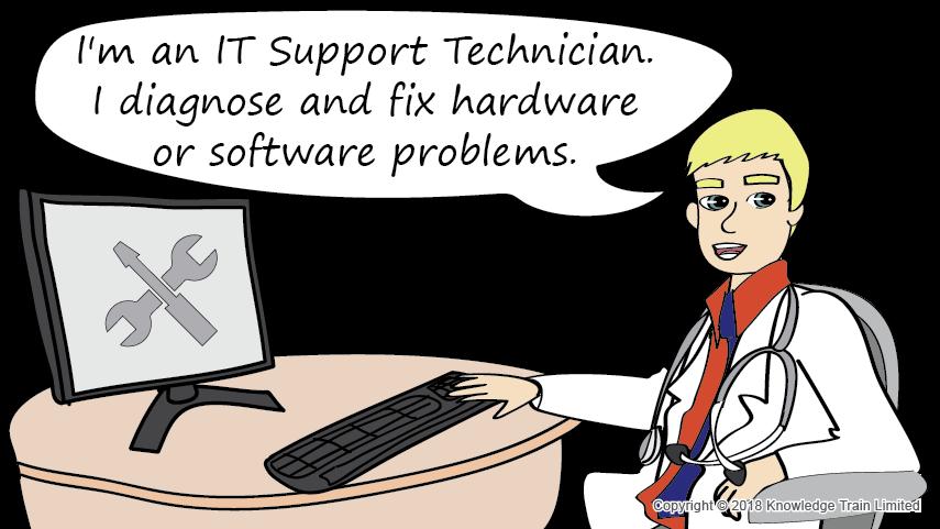 IT Support Technician role