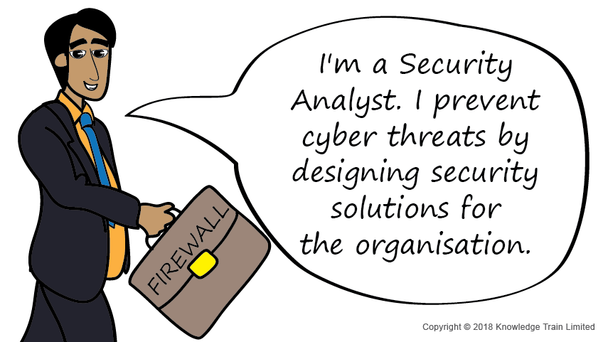 Security Analyst role