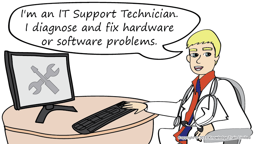 IT Support Technician role